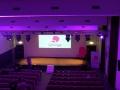 palco con luci per evento